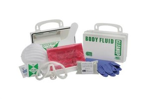Body Fluid Cleanup Kits